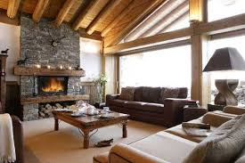 country home interior ideas. Country Home Decorating Ideas. Stone Fireplace And Wood Ceiling Design Country Home Interior Ideas O