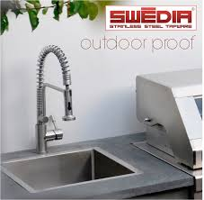 swedia kitchen mixers suitable for outdoor installation outdoor kitchen tap that will not rust