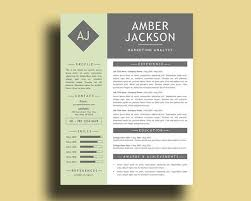Modern Resume Template Windows Holiday Sale Pastel Green Modern Resume Template With Free