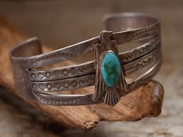 indian jewelry fred harvey style thunderbird silver turquoise pendant navajo vintage native american accessories