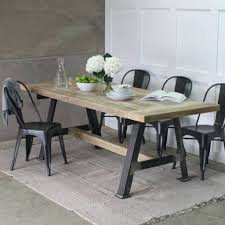 dining room tables reclaimed wood. Industrial Dining Room Table A Game Reclaimed Wood With Steel Frame Furniture Vintage Tables