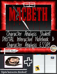 macbeth character teaching resources teachers pay teachers shakespeare s macbeth character analysis digital and printable
