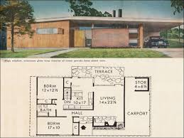 Small Picture Mid Century Modern Home Floor Plans With Design Gallery 33753