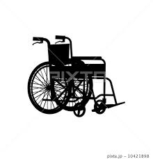 車いすのイラスト素材 10421898 Pixta