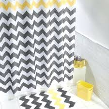 shower curtains yellow chevron shower curtain bathroom images throughout sizing 942 x 942
