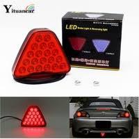 <b>Yituancar</b> 1Pcs 20 LEDs <b>Car</b> Truck Trailer Tail Light LED Brake Stop ...