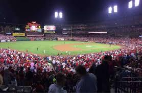 Busch Stadium Section 160 Home Of St Louis Cardinals
