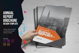 Modern Brochure Design Annual Report Brochure Design Brochure Templates Creative Market 19