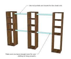 build shelf in closet you can make the top shelves adjule with shelf pins but it build shelf in closet