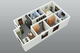 3d 3 bedroom house plans best best bedroom house designs d plans