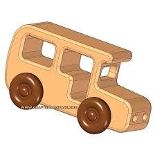 wooden bus kids toy plan