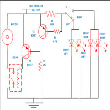 wiring diagram car indicators wiring image wiring transistor based vehicle indicator engineersgarage on wiring diagram car indicators