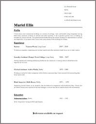 good cv template learn report writing skills home study business training resume