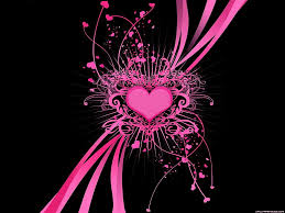 Cool Pink And Black Background Pink And Black Backgrounds Wallpaper Cave