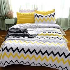 zig zag bedding kids yellow black white and grey zigzag chevron stripe print unique high fashion cotton twin full size bedding sets navy zig zag baby
