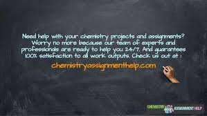 mad chemistry assignment experiments and their results 12 need help your chemistry projects and assignments