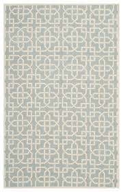 runner rug light blue and white 12 x2 3 contemporary area rugs by arearugs
