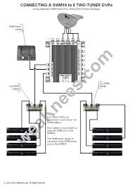 directv swm wiring diagrams and resources wiring a swm16 8 dvrs no deca router package