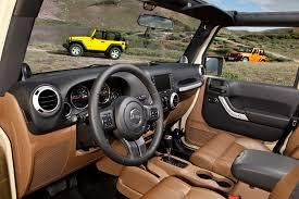 jeep wrangler 2014 interior.  Wrangler The Jeep Wrangler Gets An Allnew Interior For 2011 Featuring Softtouch  Materials In 2014 Interior E