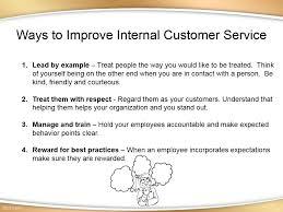 Example Of Best Customer Service Great Internal Customer Service Training Presentation