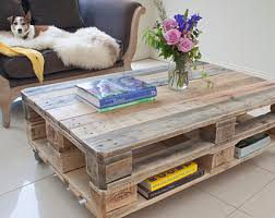 Chevron Pallet Coffee Table By SucculentWoodShop On Etsy  Tammyu0027s Pallet Coffee Table For Sale