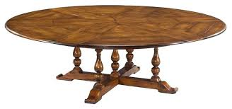 extendable dining table seats 10 rustic extra large solid walnut round traditional ikea