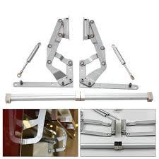 2 Cabinet Door Vertical Swing Lift Up Stay Pneumatic Arm Kitchen