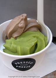 pressed juicery half greens half chocolate freeze