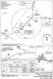 Vor Chart Iap Chart Vor Dme Rwy 21 Bloomington Normal Bmi