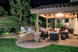 san go outdoor living spaces with patio area