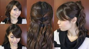 Easy Hairstyles On The Go Casual Friday Easy Hairstyles For Medium Long Hair Tutorial Youtube