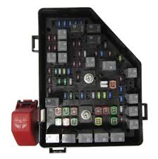 new oem gm gmc acadia l v fuse and relay box