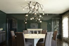 joe nahem of fox nahem associates collaborated with artist david wiseman of r company to create a chandelier modeled after a blossoming branch
