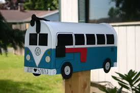 unique residential mailboxes. Well Hello There, Handsome Volkswagen Bus Mailbox! Available In Your Choice Of 12 Stunning Colors, This Mailbox Adds Instant Vintage Charm To Home\u0027s Unique Residential Mailboxes