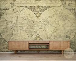 map wall mural world wallpaper murals throughout for walls decor large map wall mural world decal