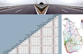 Distance Chart Travelserv Lk