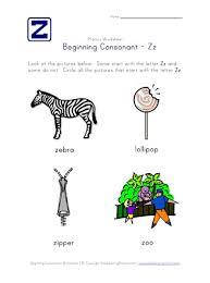 905 x 1280 png 79 кб. Beginning Consonants Letter Z Worksheet All Kids Network