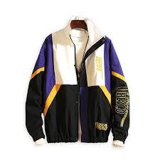 new regular hip hop turn down collar rib sleeve patchwork zipper standard pockets korean version loose collar hombre jackets men coats and jacket coats