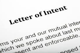 Restaurant Sample Letter Of Intent