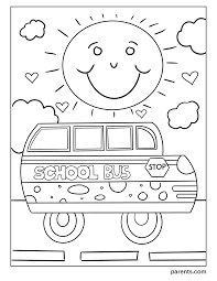 This skill will be in use at the school. 10 Printable Back To School Coloring Pages For Kids Parents