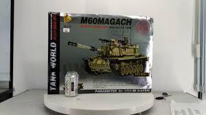 PanlosBrick 632004 Panlos Brick 632004 Xếp hình kiểu Lego CREATOR M60  Magach Main Battle Tank Israel M60 Magati Main Battle Tank Xe Tăng Chiến  Đấu Chủ Lực Của Israel giá sốc rẻ nhất