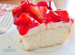 Strawberry Shortcake Cake Video The Country Cook