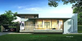 one story modern house plans single story modern house plans cozy and modern single story house