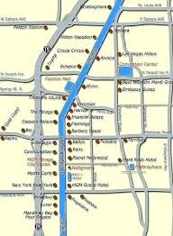 Circus Circus Property Map Luxury Maps The Mirage Map Also