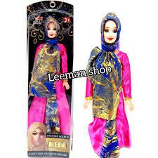 Mô Hình Đồ Chơi Búp Bê Barbie Mega Cheap No.03011-2 tại Indonesia