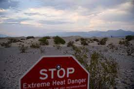 Death Valley could surpass world record ...