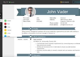 Creative Cv Example Maker 17 Resume App | Chelshartman.me