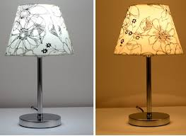 Hot selling Modern Brief Stainless Steel Fabric Decoration Lamp .