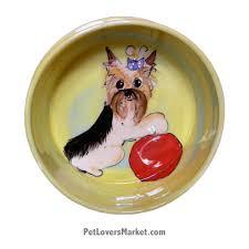 Ceramic Dog Bowls; Designer Dog Bowls; Cute