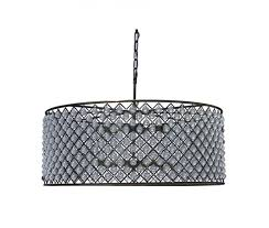 cassiel crystal drum chandelier